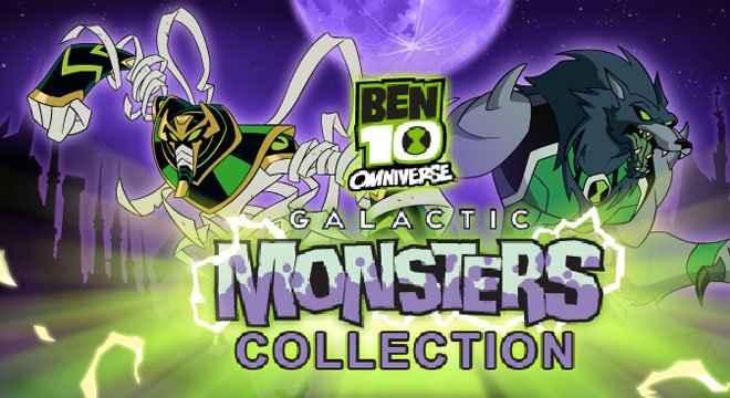 Jogo Ben 10 Omniverse: Coleção Omniverse Monstros Galácticos Online Gratis