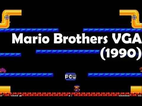 Mario Brothers VGA