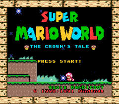 Jogo Super Mario World: The Crown's Tale Online Gratis