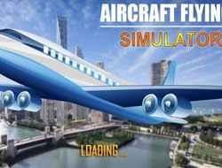 Jogo Aircraft Flying Simulator Online Gratis