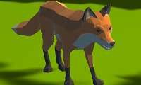 Jogo Simulador de Raposa 3D Online Gratis