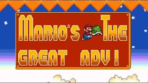 Mario The Great Adventure!
