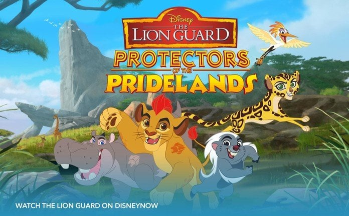 THE LION GUARD – PROTECTORS OF THE PRIDELANDS!
