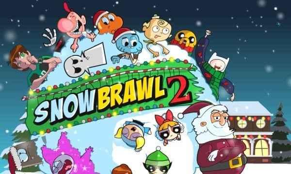 Snow Brawl Fight 2
