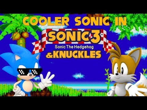 Cooler Sonic in Sonic 3 & Knuckles