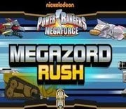 Power Rangers Mega Force Mega Zord Rush