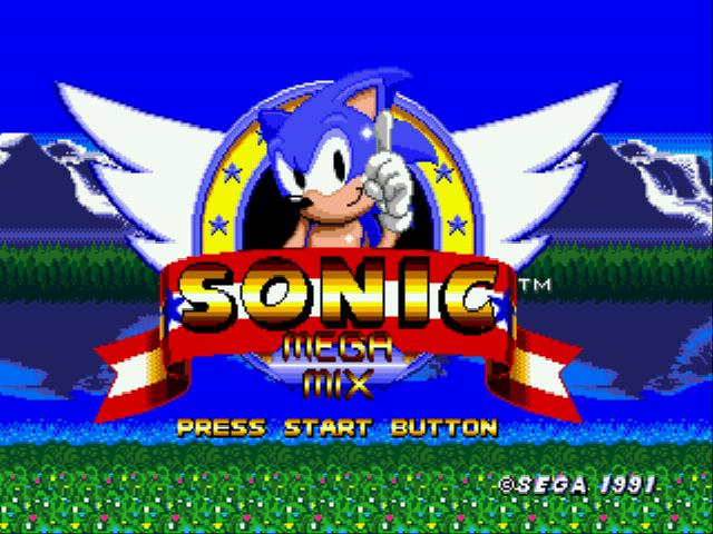 Jogo Sonic 1 Megamix (beta 4.0) Online SCD Online Gratis