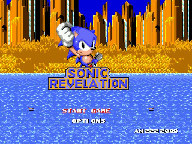 Jogo Sonic 1 – Revelation Online Gratis
