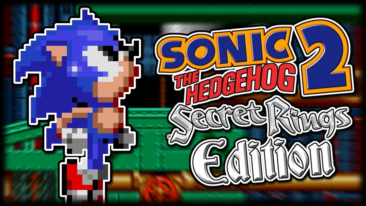 Jogo Sonic 2 Secret Rings Edition Online Gratis