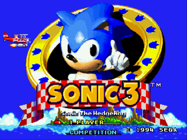 Jogo Sonic 3 Reversed Frequencies Online Gratis