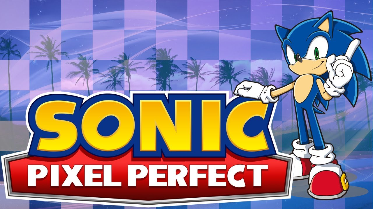 Sonic – Pixel Perfect