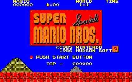 Jogo Super Mario Bros. Special Online Gratis