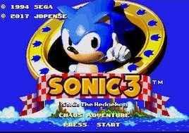 Jogo Sonic 3: Chaos Adventure Online Gratis
