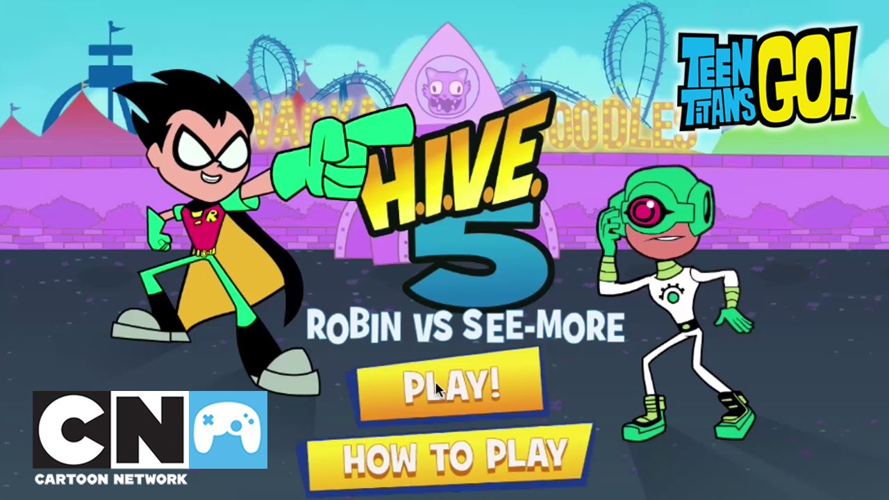 Robin Vs See-more: Teen Titans Go!
