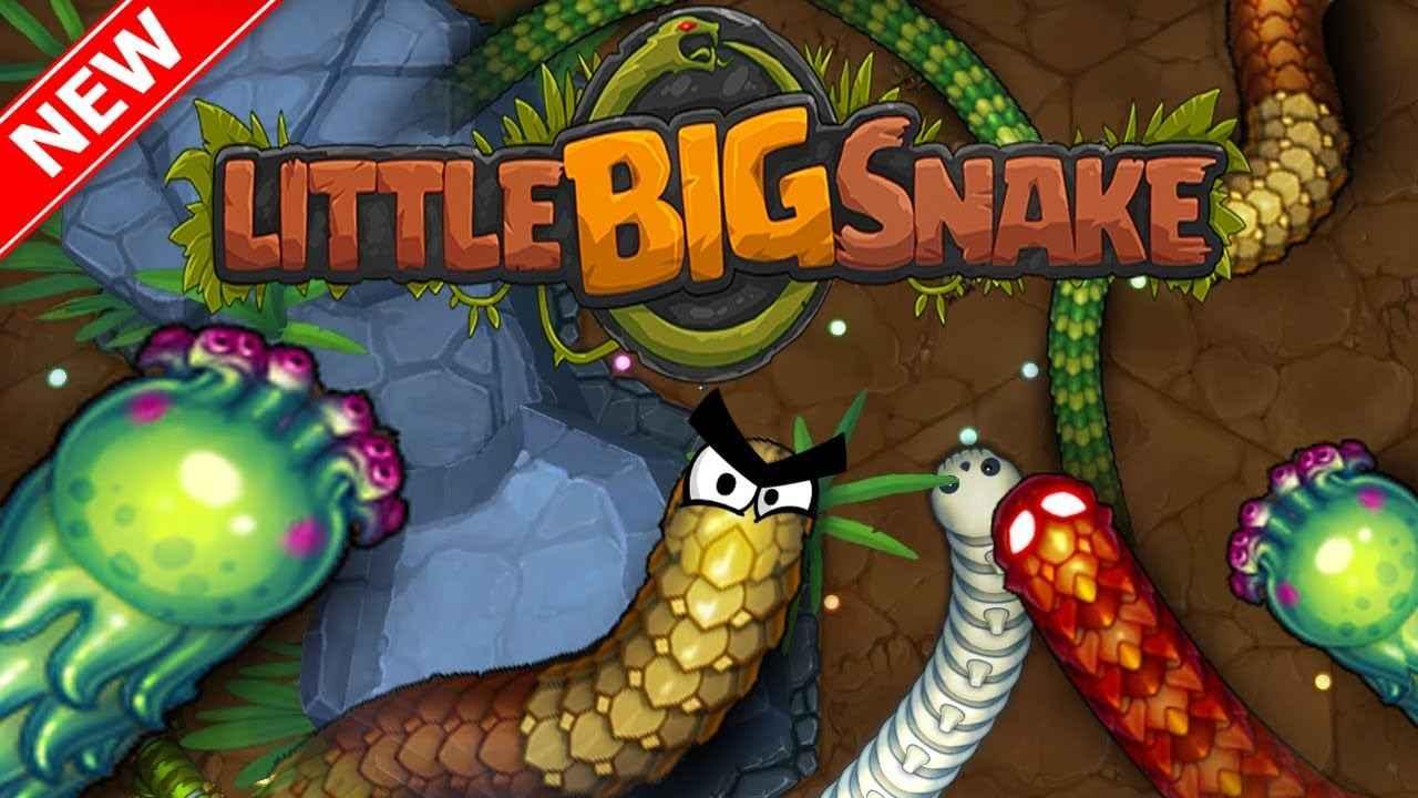 Jogo LittleBigSnake.io Online Gratis