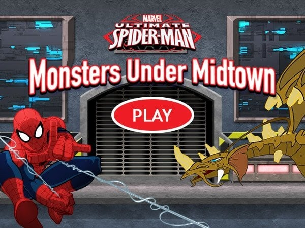 Ultimate Spider-Man: Monsters Under Midtown