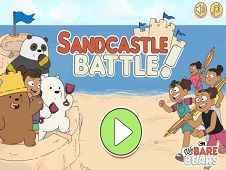 We Bare Bears: Sandcastle Battle!