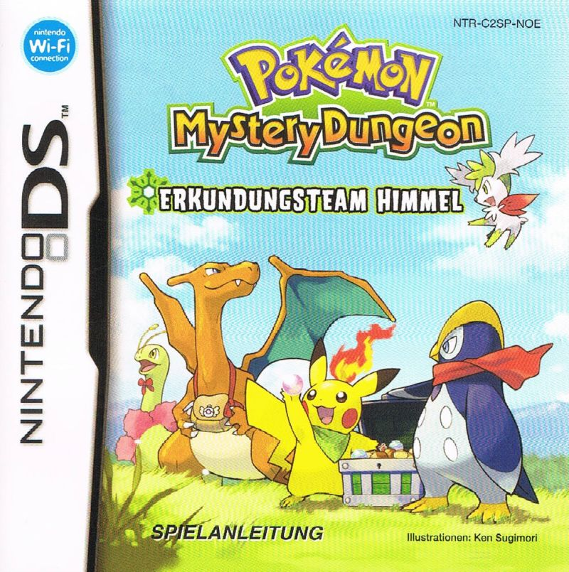 Pokemon Mystery Dungeon – Explorers of Sky Online – NDS