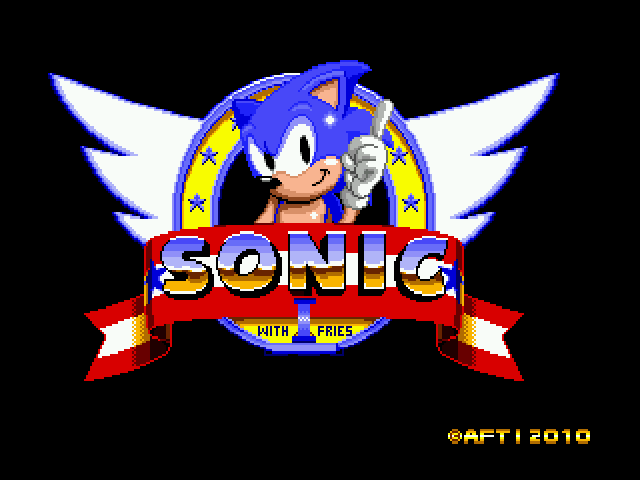 Sonic 1 With Fries