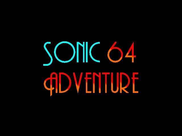 Sonic Adventure 64 (C3 Demo)