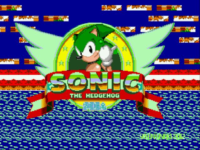 Sonic Green Snake (v3.68)