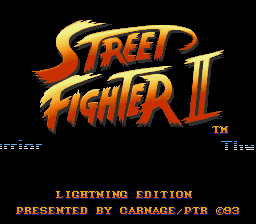 Street Fighter 2 Lightning Edition USA