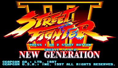 Street Fighter III: New Generation (USA 970204)