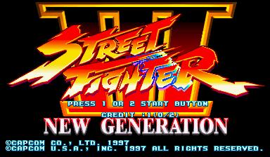 Street Fighter III: New Generation (USA 970204)