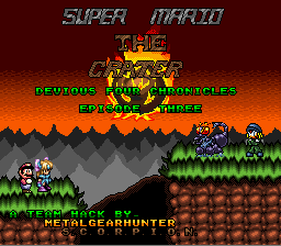 Mario: The Devious Four Chronicles 3: The Crater