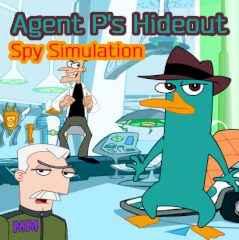 Agent P's Hideout. Spy Simulation