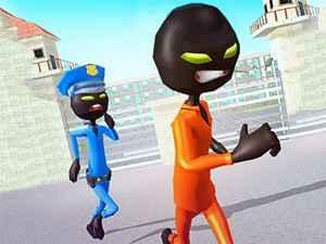 Stickman Prison Escape Story 3D