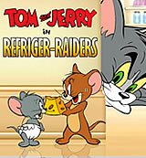 Tom And Jerry. Refriger-Raiders