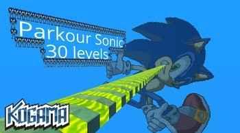 Jogar Kogama: Parkour Sonic Gratis Online