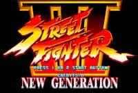 Street Fighter III Nova Geração