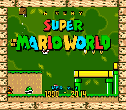 A Very Super Mario World