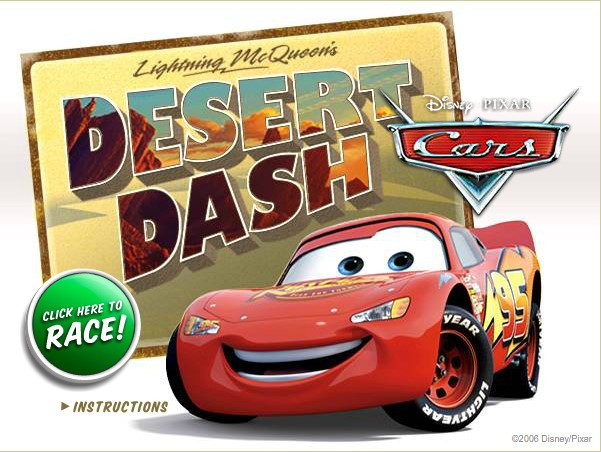Cars Desert Dash