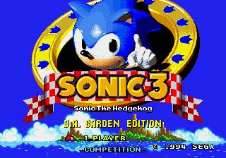 Jogar Sonic 3 – D.A. Garden Edition Gratis Online