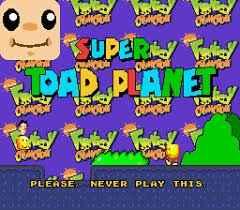 Super Toad Planet