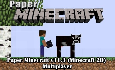 Paper Minecraft v11.3 – Multiplayer