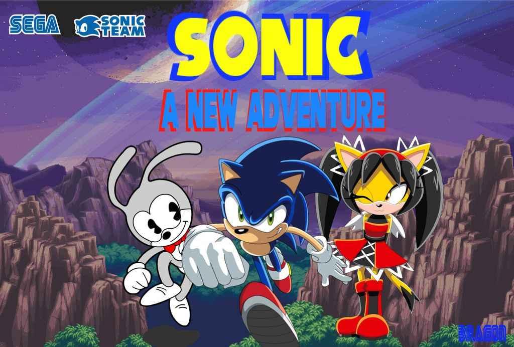 Jogar Sonic – A New Adventure Gratis Online