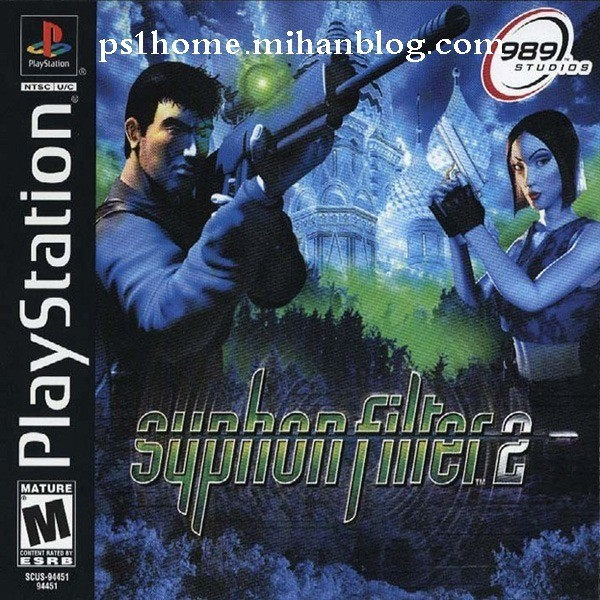 Syphon Filter 2 PS2