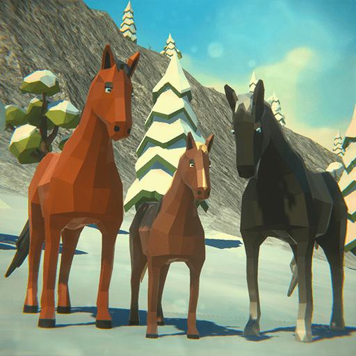 Horse Family Simulator Winter
