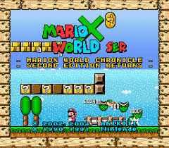 MarioX World – Second Edition Returns