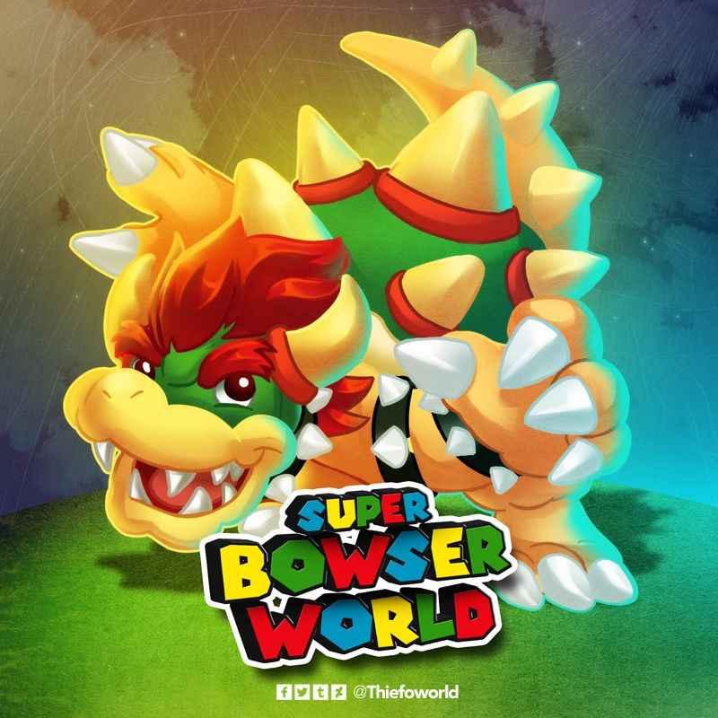 New Super Bowser World
