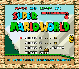 Super Mario World – Super Mario Bros. 4