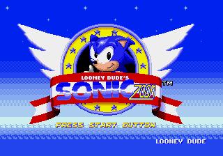 Jogar Sonic Zoom GEN Rom Hack Gratis Online