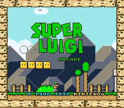 Super Luigi Arcade