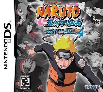 Naruto Shippuden – Ninja Council 4 NDS