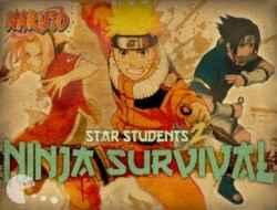 Jogar Naruto Star Students Ninja Survival Gratis Online