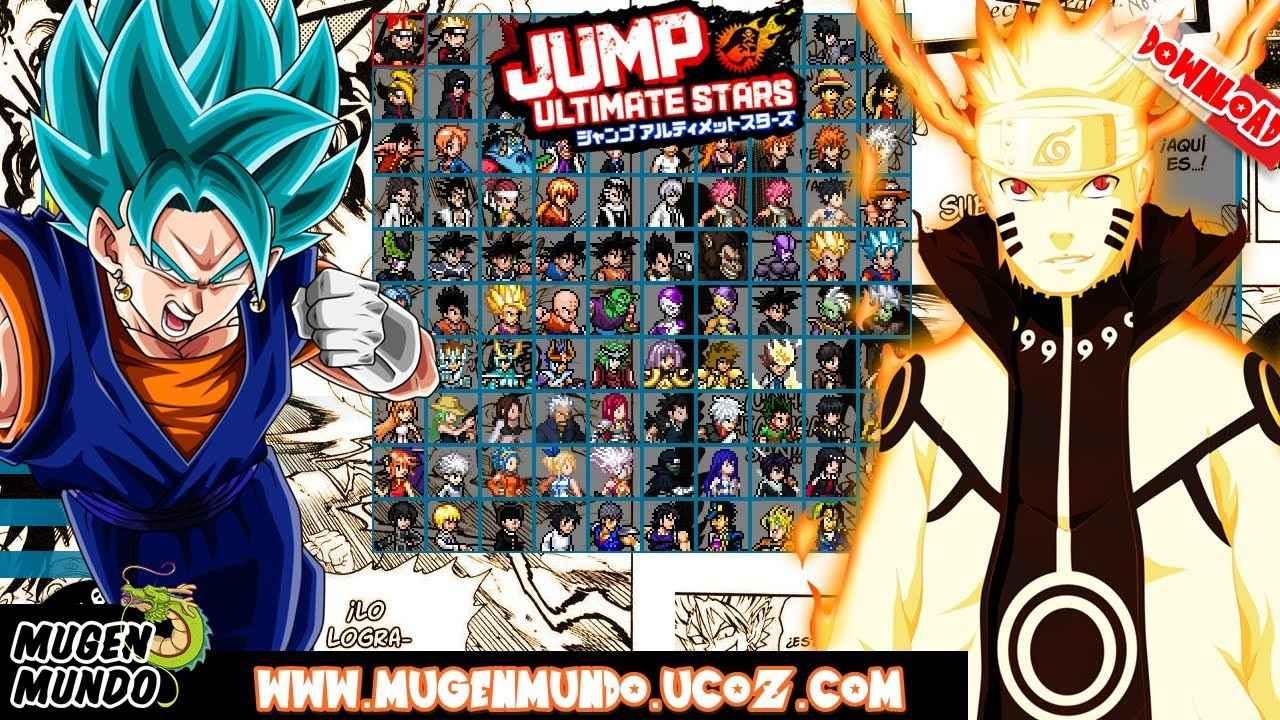Jump Ultimate Stars Reborn V3.5